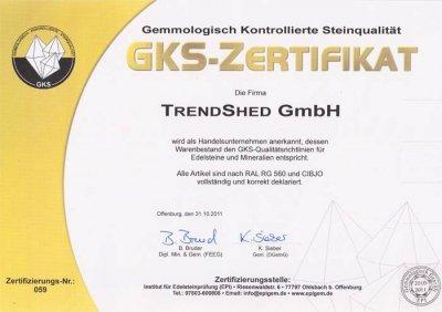 GKS-Zertifikat