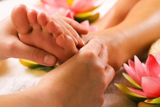 Ablauf Fußmassage