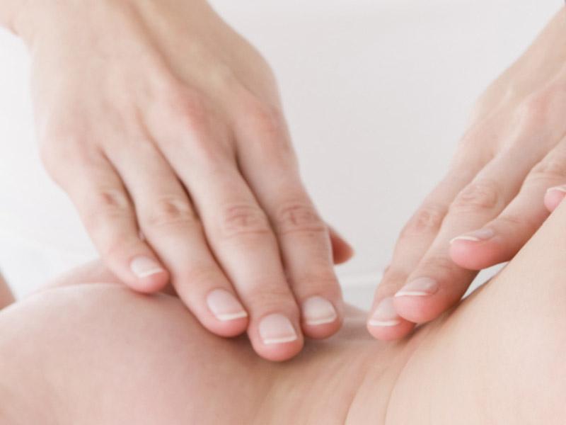 Babymassage Rückenmassage