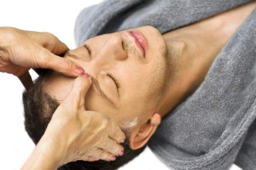 Druckpunkt-Massage