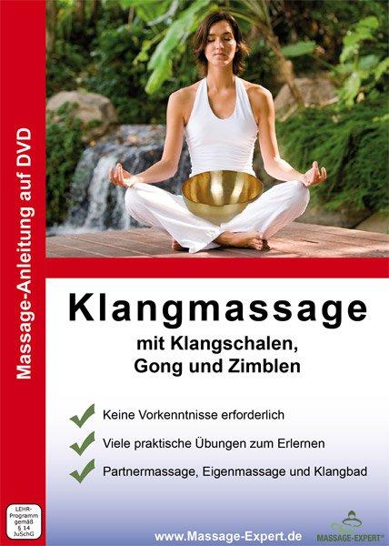 DVD Anleitung mit Klangschalen, Gong und Zimbeln