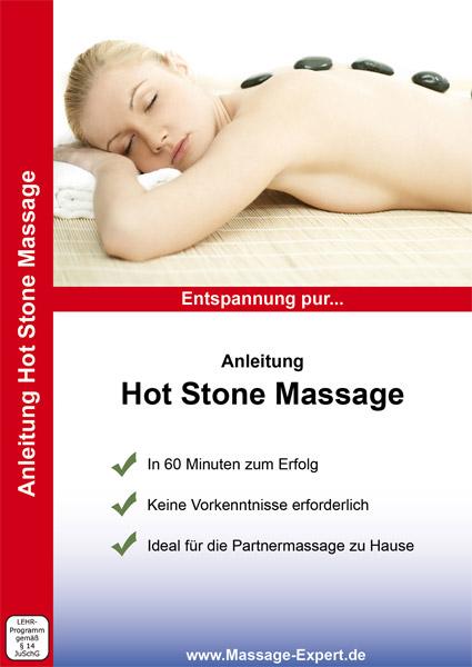 DVD-Anleitung Hot Stone Massage