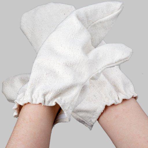Garshan Massage-Handschuhe aus Seide