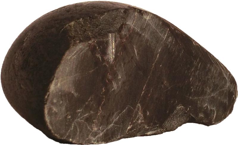 Schwarzer Hot Stone aus Basaltstein