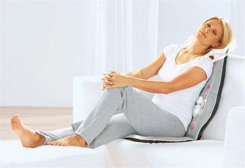 Massageauflage, Sitzauflage