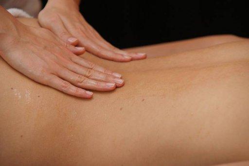 Massageöl als Gleitmittel