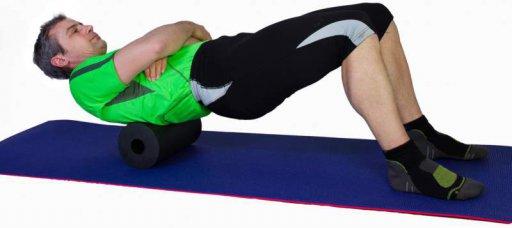 Massagerolle Rücken