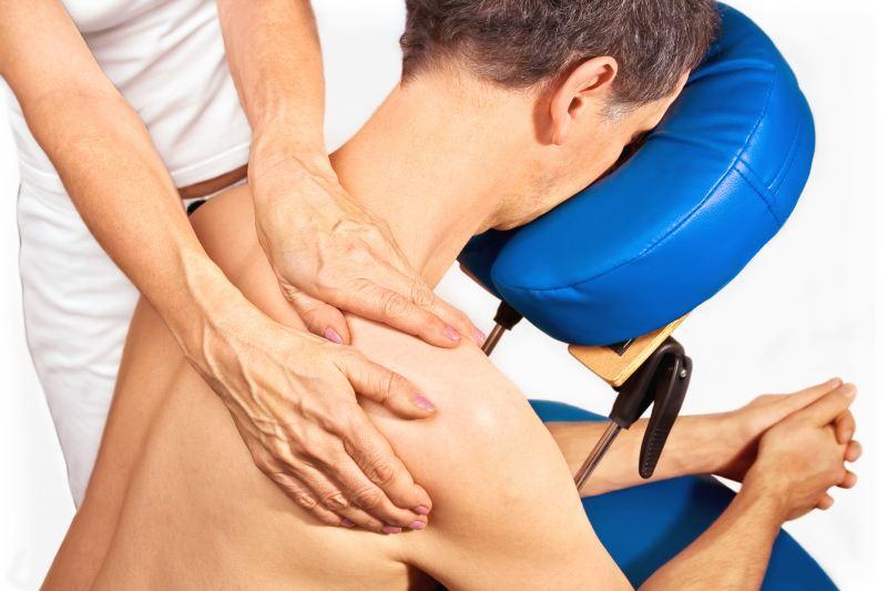 Massagestuhl für die mobile Massage