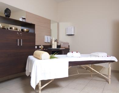 Massagevorbereitung