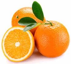 Orangen für Orangenöl