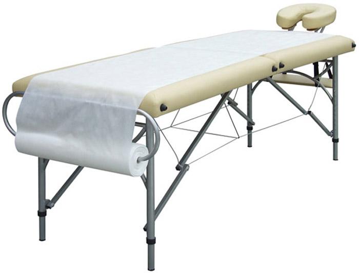 Papierrolle einer Massageliege