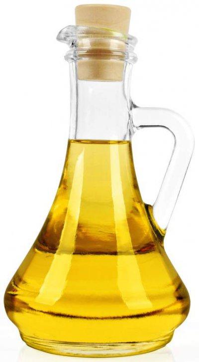 Pflanzenöl in einer Flasche
