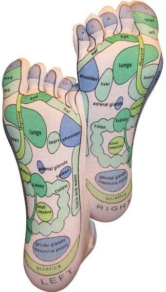 Reflexzonen-Socken