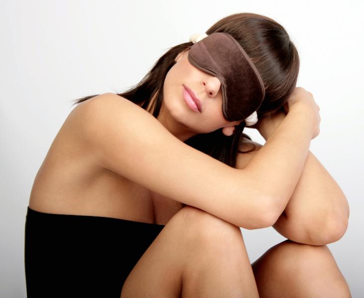 Schlafmaske, Schlafbrille