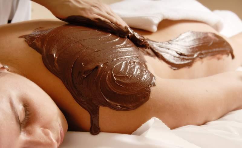 Schokoladenmassage