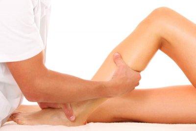 Schüttelmassage der Beine