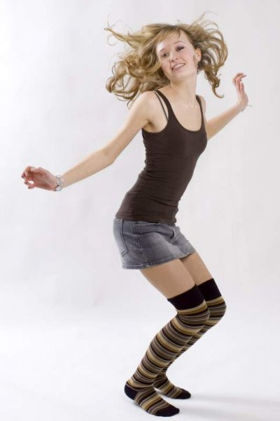 Tanzen als Schüttelmassage