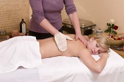 Seidenhandschuhmassage