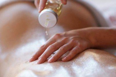 Sesamöl für Massage