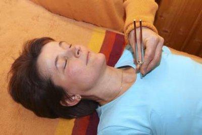 Entspannende Tonpunktur