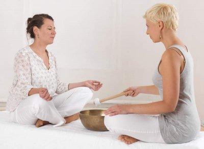 Yoga mit Klangschalen