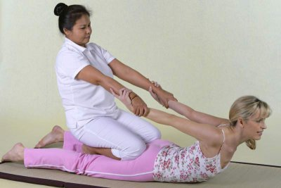 Yoga-Massage